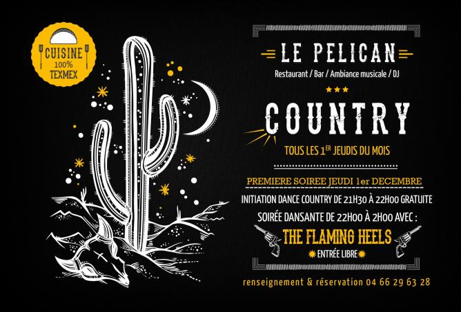 Pelican dance country